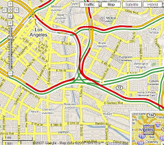 traffic map traffic in maps for usa earth