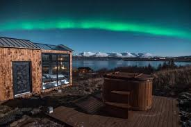 sleep under the northern lights this glass cabin in iceland lets you sleep under the northern lights