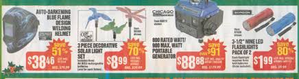 black friday generator deals harbor freight black friday 2012