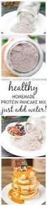 Pancake Flour Homemade Protein Pancake Mix