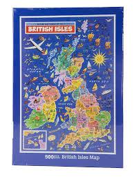 British Isles Map British Isles Map Jigsaw Puzzle By James Hamilton Grovely Amazon