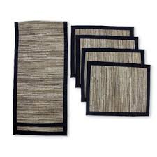 table runner placemat set table runner and placemat set wayfair