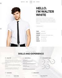 Attractive Resume Template 20 Attractive Online Resume Templates