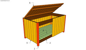Plans To Build Outdoor Storage Bench by Garden Storage Box Plans Free Garden Plans How To Build Garden