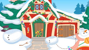 santas house makeover santa claus makeover game for kids youtube