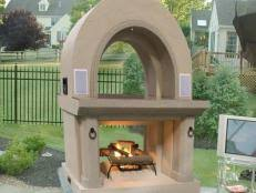 deck fireplace ideas and options hgtv