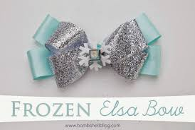 pictures of hair bows no sew hair bow tutorial disney themed elsa hair bow