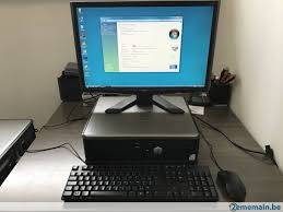 ordinateur pc bureau ordinateur pc de bureau dell optiplex 760 a vendre 2ememain be