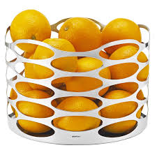 embrace modern fruit basket designer fruit bowl steel