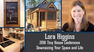 lora higgins tiny house conference downsizing session preview