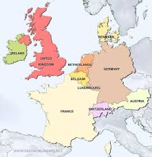 Europe And Asia Map by Map Of West Europe Map Of North West Europe Map Of West Africa