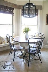 Kitchen Round Tables by Diy Round Table Shanty 2 Chic