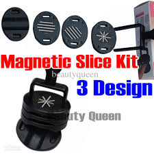 sale 3 design magnetic slice tips kit for nail art magnetic