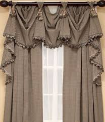 Window Swags And Valances Patterns Rod Mounted Jabot Perdele Pinterest Window Curtain Ideas