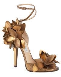 wedding shoes gold color amazing wedding shoes martha stewart weddings