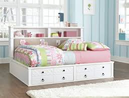 bedroom full size daybed with storage white petsadrift