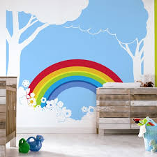 The  Best Rainbow Wall Ideas On Pinterest Rainbow Room Kids - Childrens bedroom wall painting ideas