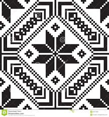 belorussian ethnic ornament seamless pattern vector illustration