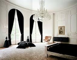 material bedroom lenny kravitz paris apt black white fur glam