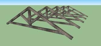 Barn Truss Very Small Barn With Recycled Material