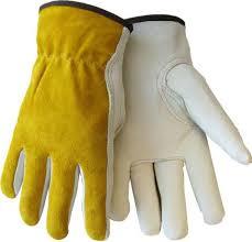 Split Cowhide Tillman 1414 Top Grain Split Cowhide Drivers Gloves 1 Pair
