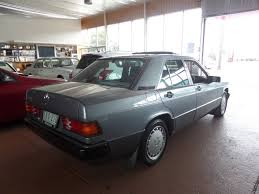 1990 mercedes benz 190 e 1 8 w201 for sale in melbourne lcs car
