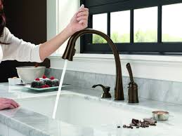 Touch Free Faucets Kitchen by Aqua Touch Kitchen Faucet Rigoro Us