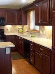 modern kitchen with cherry wood cabinets cherry cabinets kitchen new kitchen cabinets