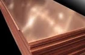 pure copper sheet 12 x 12 x 24 gauge for craft alloy 110 surplus copper sheet 021 x 12 x 12 2 pieces ebay