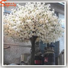 4 5meters height indoor tree white flower mini artificial trees