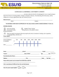 parental consent form template fill out print u0026 download online