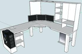 Z Line Belaire Glass L Shaped Computer Desk Z Line Belaire Glass L Shaped Computer Desk Medium Fancy Gaming