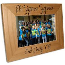 sorority picture frame sorority bid day 4x6 picture frame accessories