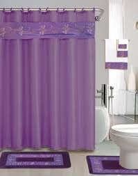 Lavender Bathroom Accessories by Purple Bathroom Accessories Combined With White Furniture For Chic