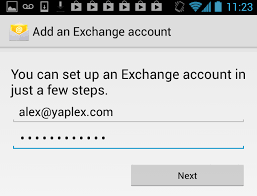office 365 android setup setting up office 365 exchange account on android for nexus