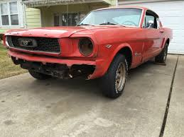 1966 Ford Mustang Black Seller Of Classic Cars 1966 Ford Mustang Orange Black