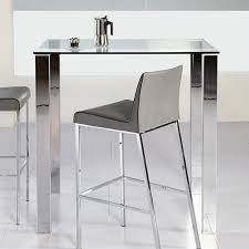 Glass Bar Table Eurostyle Beth Glass Bar Table In Clear 38704a 38704g Kit