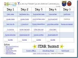raising rock preschool lesson planning sheets 1 1 1 1