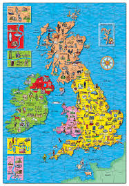 Map Of England And France by Orchard Toys Great Britain U0026 Ireland Map Puzzle Jigsaw Puzzle