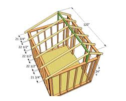 shed style roof how to do shed roof framing yourself zacs garden