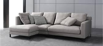 canape d angle 5 places canapé d angle tissu gris au meilleur prix