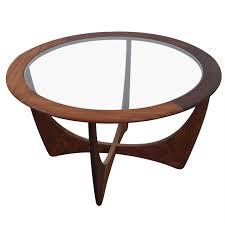 mid century round coffee table mid century danish modern coffee table by ib kofod larsen for g plan