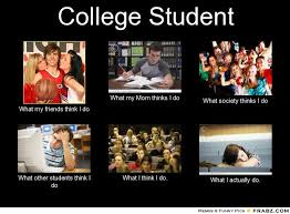 College Students Meme - to those who are considering going to loyola college admission