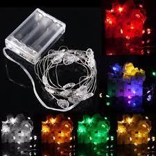 Christmas Decorative Lights Sale by 2m 20 Led Skull Style Battery Operated Xmas String Fairy Lights