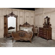 Antique Walnut Bedroom Furniture Antique Bedroom Furniture 19th Century Rococo Louis Xv