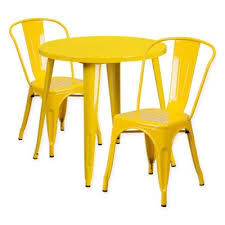 Yellow Bistro Chairs Buy Yellow Bistro Chair From Bed Bath Beyond