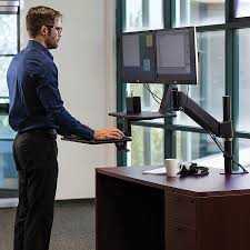 Desk Extender For Standing Amazon Com Mount It Sit Stand Desk Standing Desk Height