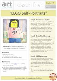 lego self portraits free lesson plan download art pinterest