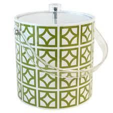sunmor acrylic ice bucket green hip u0026 cool products for palm