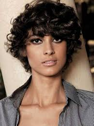 short hairstyles for curly frizzy hair archives latest hair